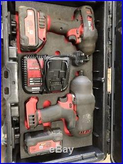 Mac Tools impact guns cordless 18v battery 1/2 And 3/8
