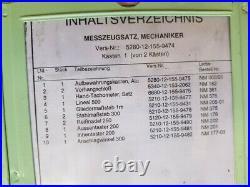 Marine Messmittelsatz Messschieber Taster Drehzahlmesser antimagnet. Bundeswehr