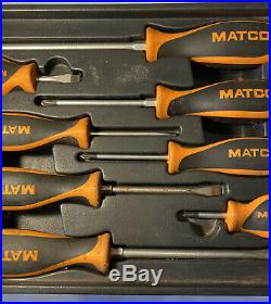 Matco 9 Piece Screwdriver Set