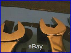 Matco, Bonney, Large Combination Wrench Set Sae 5pcs
