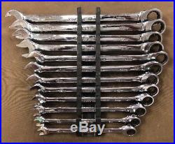 Matco Tool (S7GRCXLM12) 12pc Extra Long Combination Ratcheting Wrench Set 8-19mm