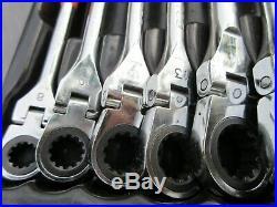 Matco Tools 10pc Metric Spline Flex Head Wrench Set