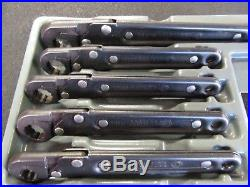 Matco USA Ratcheting Flare Nut Wrench Set Metric