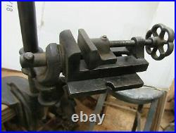 Millers Falls #10 Hand Cranked Drill Press Complete & In Working Condition
