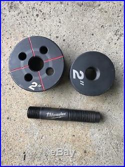 Milwaukee 10-Ton Knockout Tool 2676-20