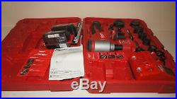 Milwaukee 2676-22 Force Logic M18 10-Ton Knockout Tool Kit with1/2 2 Punch/Die