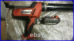 Milwaukee C18PCG 18v 1x2.0ah Caulking Gun, NO charger or case