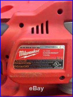 Milwaukee Cordless Knockout Punch Set 2676-20 Force Logic M18 10 Ton Nr