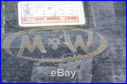 Moore & Wright (M&W) No. 311 Engineers Straight Edge 48 / 122cm