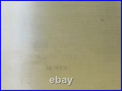 Moore & Wright No. 401 BS939 GRADE AA 24 Bevel Edge Engineers Square ME2119