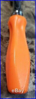 NICE Snap On FHFD80A Orange 3/8 Drive Flex Head Hard Handle Dual 80 Ratchet USA