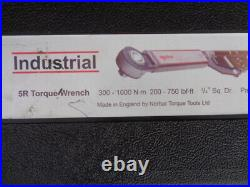 NORBAR 5 R 3/4 inch DRIVE TORQUE WRENCH IN CASE VERY NICE CONDITION