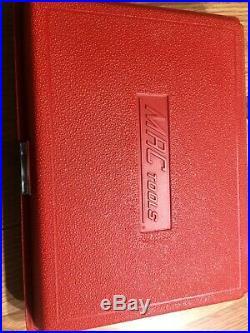 Nice Used Mac 44 Piece Socket Set Smm446br 1/4 Drive Std & Metric Shallow & Deep