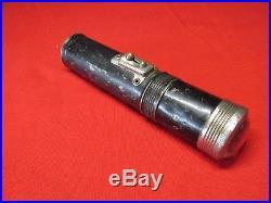 OLD lock pick tool set door chest safe antique flashlight case hand made 1914