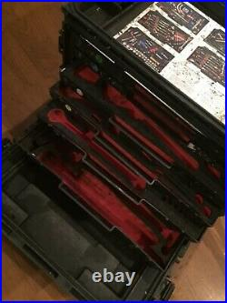 Pelican 0450 Tool Case/armstrong General Mechanics Military-foam/some Tools