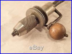 RARE' Antique 1895 Patented AUTO RECIPROCATING HAND DRILL Best Tool Company