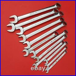 READ! Snap-on Tools USA 12 Piece Metric 6-18mm NO 11mm Combination Wrench Set