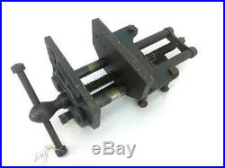 Rare Early Record No 52 Vice Quick Release Woodworker Collectible Old Tools
