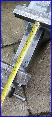 Record 112 Heavy Duty 6 Engineers Bench Vice Quick Release