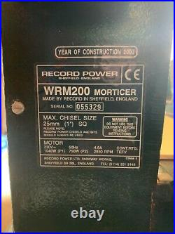 Record power rpws280 morticer