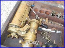 Richards Steam Engine Indicator Elliott Brothers For Restoration As Photo