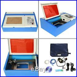 Ridgeyard 40W CO2 USB Laser Engraver Cutter Engraving Cutting Machine 300x200m