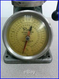 Rimac Valve Spring Tester, 0 350 Lb