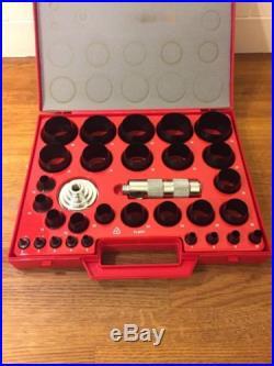Roebuck 31pc Hollow Punch Set MINT 2-50mm