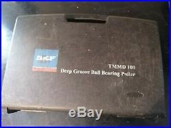 SKF TMMD 100. DEEP GROVE BALL BEARING PULLER. Complete kit