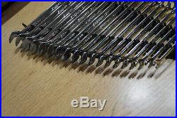 SNAP ON 18pc Metric Flank Drive Plus Wrench Set, 7mm to 24mm, SOEXM710, SOEXM705