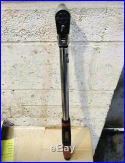 SNAP ON Flexi Head DIGITAL TECH TORQUE WRENCH 1/2 INCH TECH3FR250