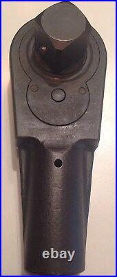 SNAP ON TOOLS COLLECTABLE VINTAGE 1937 L-78 1 1/2 Drive RATCHET HEAD VERY RARE
