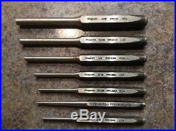 SNAP-ON TOOLS MATCO TOOLS CHISEL AND PUNCH SET 27 pcs IN C2700 KIT BAG