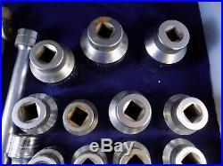 S&K 3/4 drive professional socket set 29pc 7/8 to 2 1/4 2 ratchet 2 breaker e