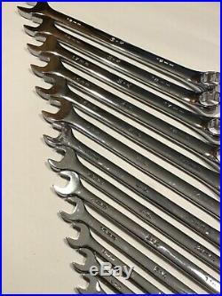 S-K SUPERKROME 12-Pt Long Combo Wrench Set WithSUREGRIP13 Piece 7-19MMLike Snap