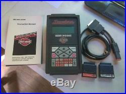 Scanalyzer Harley Davidson Kent Moore Diagnostic Tool, 2 Cartridges & Manual