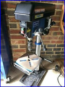 Scheppach DP18 VARIO Pillar Drill Press / Bench Drill, Variable Speed, 230V