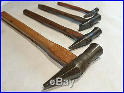 Set of 4JAPANESE HammerAntiqueBLACKSMITH HAND FORGED ToolWood Chisel & Plane