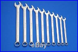Snap-On 10 Pc Metric Flank Drive Combination Wrench Set OEXM710B SHIPS FREE