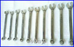 Snap On 12 Point Metric Flank Drive Plus Wrench Set 10-19 mm-Missing 13 mm