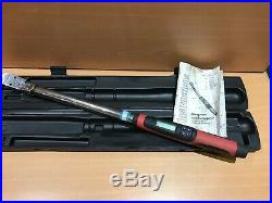 Snap On 1/2' Tech Wrench Digital Torque Wrench TECH3FR250 Flex Head 25-250 Ft lb