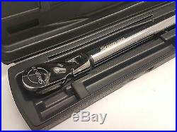 Snap On 1/2 Torque Wrench with Angle. ATECH3FR250. 33-330nm. (Vat Included)