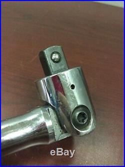 Snap On 36 1/2 Drive Flex Head Breaker Bar SN36