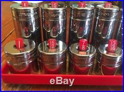 Snap On 3/8 26pc SAE Deep And Shallow Socket Sets 1/4-1(read Description) 6poin