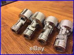 Snap On 3/8 Dr AF Imperial Shallow 12pt Socket Set MINT 5/16 -1 12pc Aviation