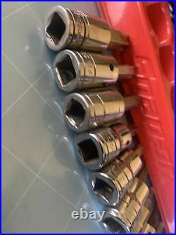 Snap On 3/8 Drive TORX Socket Driver Set 11pcs