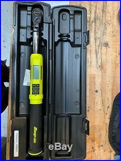 Snap On 3/8 Drive TechAngle Flex-Head Digital Torque Wrench (5-100 ft-lb)
