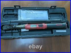 Snap On 3/8 Techangle Torque Wrench ATECH2F100VR