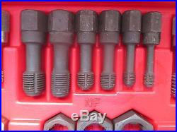 Snap On 42 Piece Re-threading Fractional And Metric Rtd42 Set