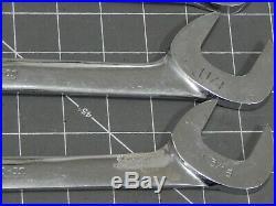 Snap On 4 Way Angle Head Wrench 3Pc Lot 1 3/16 1 1/4 1 5/16 VS38 VS40 VS42